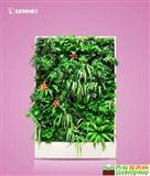 吉星高照 移动智能植物墙